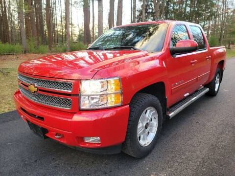2013 Chevrolet Silverado 1500 for sale at Showcase Auto & Truck in Swansea MA