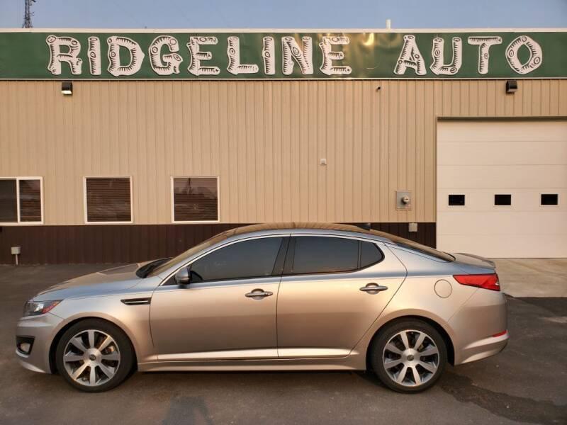 2011 Kia Optima for sale at RIDGELINE AUTO in Chubbuck ID
