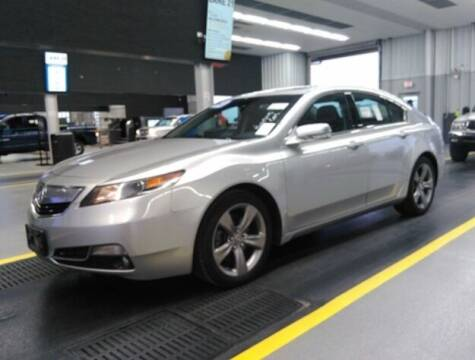 2013 Acura TL for sale at HW Used Car Sales LTD in Chicago IL