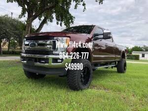 2017 Ford F-350 Super Duty for sale at Transcontinental Car USA Corp in Fort Lauderdale FL