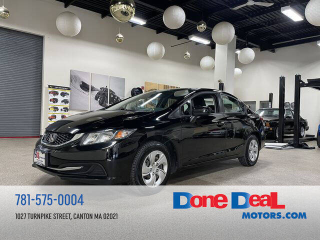 2015 Honda Civic for sale at DONE DEAL MOTORS in Canton MA
