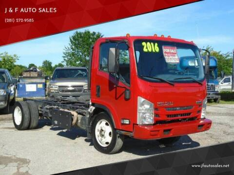 2016 Isuzu NQR for sale at J & F AUTO SALES in Houston TX