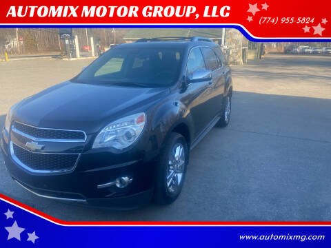 2011 Chevrolet Equinox for sale at AUTOMIX MOTOR GROUP, LLC in Swansea MA