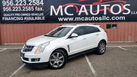 2012 Cadillac SRX for sale at MC Autos LLC in Pharr TX