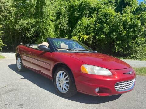 2002 Chrysler Sebring for sale at Pristine AutoPlex in Burlington NC