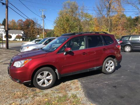 2014 Subaru Forester for sale at Edward's Motors in Scott Township PA