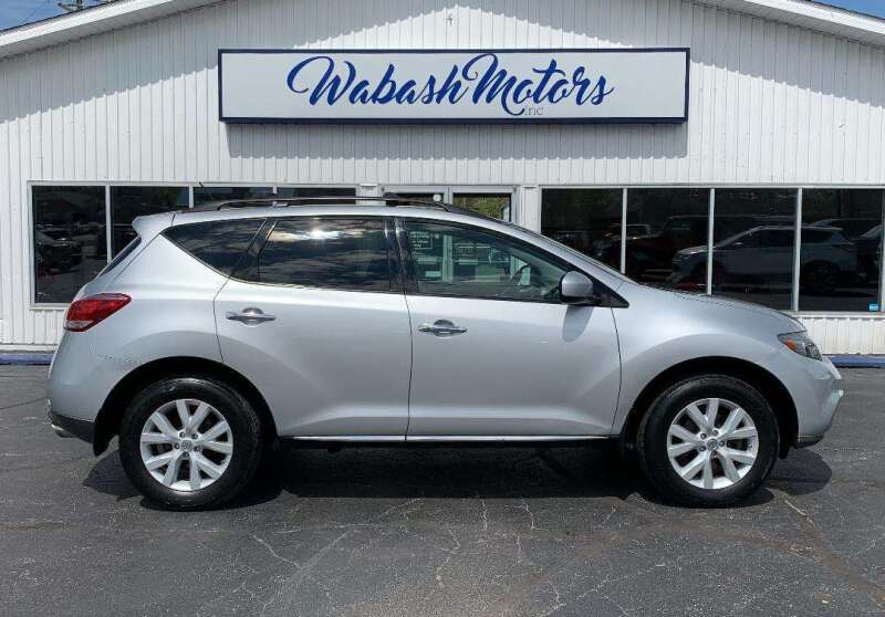 2012 Nissan Murano for sale at Wabash Motors in Terre Haute IN