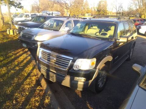 2006 Ford Explorer for sale at Continental Auto Sales in White Bear Lake MN