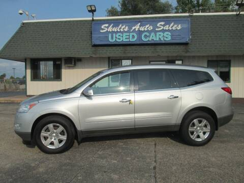 2012 Chevrolet Traverse for sale at SHULTS AUTO SALES INC. in Crystal Lake IL