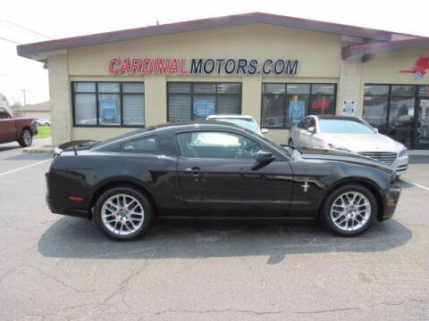 2014 Ford Mustang for sale at Cardinal Motors in Fairfield OH