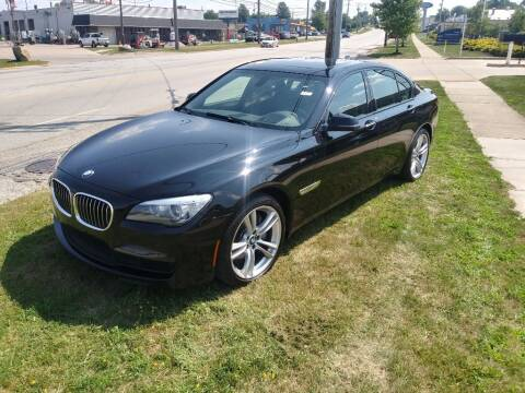 2015 BMW 7 Series for sale at ENZO AUTO in Parma OH