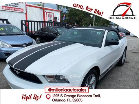 2012 Ford Mustang for sale at Millenia Auto Sales in Orlando FL