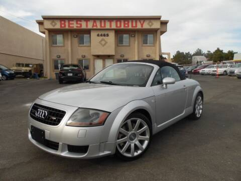 2004 Audi TT for sale at Best Auto Buy in Las Vegas NV