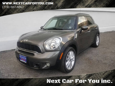 2012 MINI Cooper Countryman for sale at Next Car For You inc. in Brooklyn NY