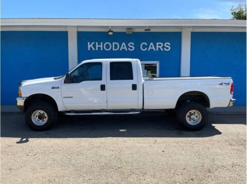 2001 Ford F-350 Super Duty for sale at Khodas Cars in Gilroy CA