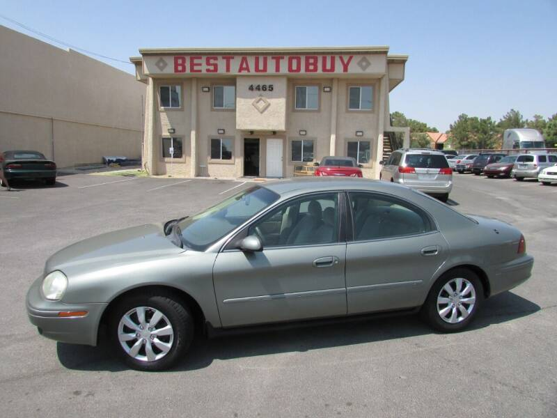 2002 Mercury Sable for sale at Best Auto Buy in Las Vegas NV