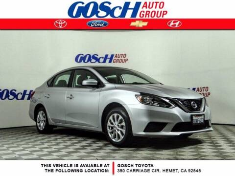 2019 Nissan Sentra for sale at BILLY D SELLS CARS! in Temecula CA