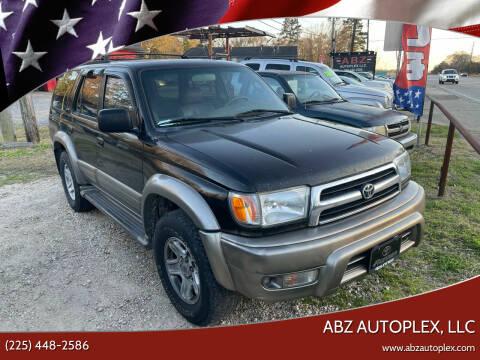 1999 Toyota 4Runner for sale at ABZ Autoplex, LLC in Baton Rouge LA