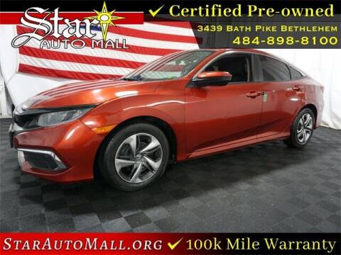 2019 Honda Civic for sale at STAR AUTO MALL 512 in Bethlehem PA