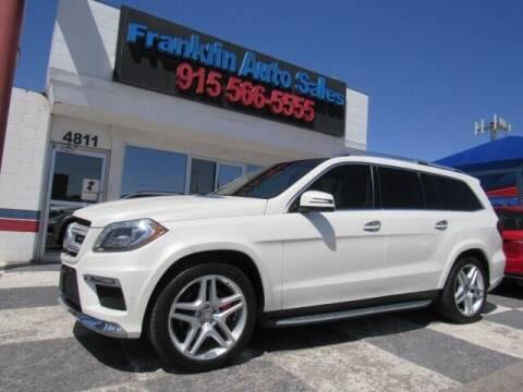 2015 Mercedes-Benz GL-Class for sale at Franklin Auto Sales in El Paso TX