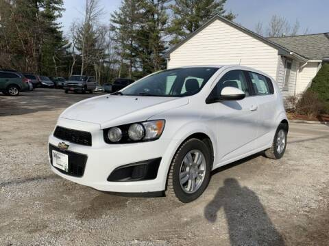 2013 Chevrolet Sonic for sale at Williston Economy Motors in Williston VT