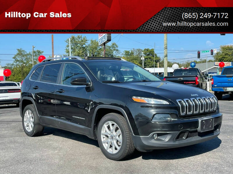 2014 Jeep Cherokee for sale at Hilltop Car Sales in Knoxville TN