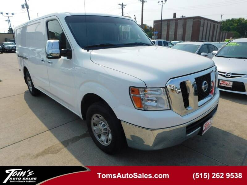 2012 Nissan NV Cargo for sale in Des Moines, IA