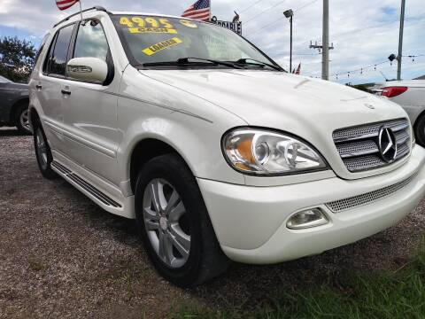2005 Mercedes-Benz M-Class for sale at AFFORDABLE AUTO SALES OF STUART in Stuart FL