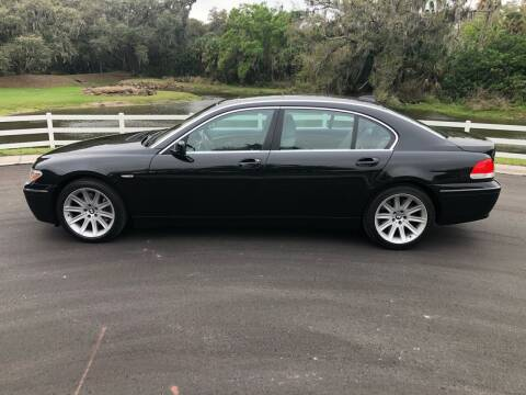 2003 BMW 7 Series for sale at Unique Sport and Imports in Sarasota FL
