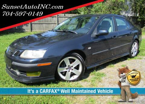2006 Saab 9-3 for sale at Sunset Auto in Charlotte NC