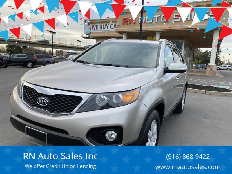 2012 Kia Sorento for sale at RN Auto Sales Inc in Sacramento CA
