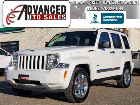 2012 Jeep Liberty for sale at Advanced Auto Sales in Tewksbury MA