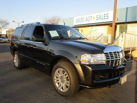 2013 Lincoln Navigator for sale at Salem Auto Sales in Sacramento CA