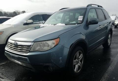 2010 Subaru Forester for sale at Angelo's Auto Sales in Lowellville OH