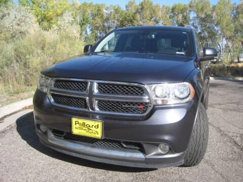 2013 Dodge Durango for sale at Pollard Brothers Motors in Montrose CO