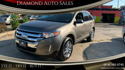 2013 Ford Edge for sale at Diamond Auto Sales in Milwaukee WI