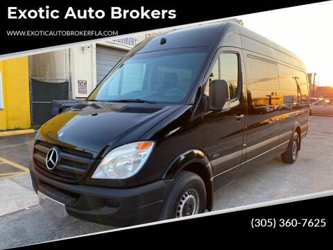 2013 Mercedes-Benz Sprinter Passenger for sale at Exotic Auto Brokers in Miami FL