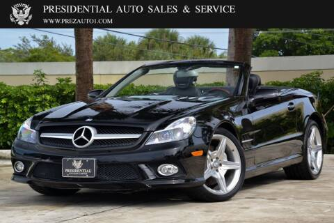 2011 Mercedes-Benz SL-Class for sale at Presidential Auto  Sales & Service in Delray Beach FL