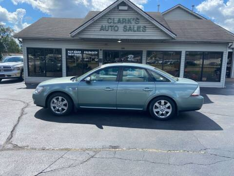 2008 Ford Taurus for sale at Clarks Auto Sales in Middletown OH