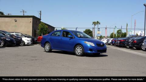 2010 Toyota Corolla for sale at Westland Auto Sales in Fresno CA