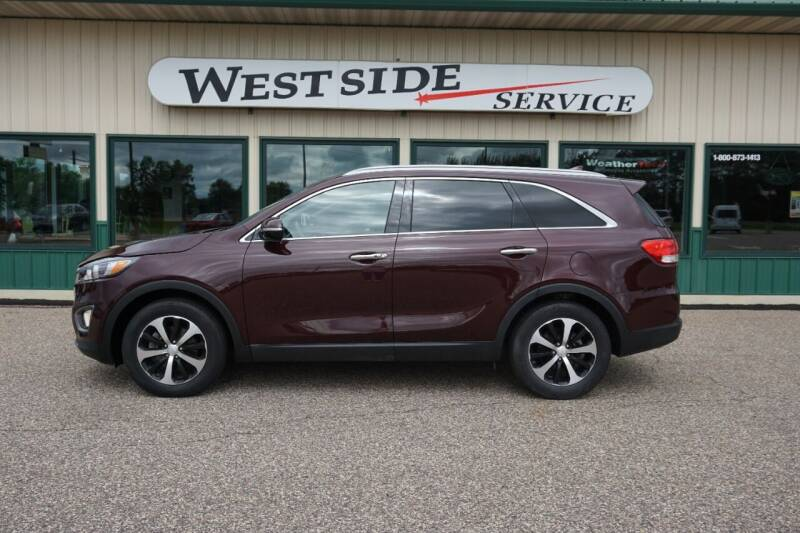 2017 Kia Sorento for sale at West Side Service in Auburndale WI