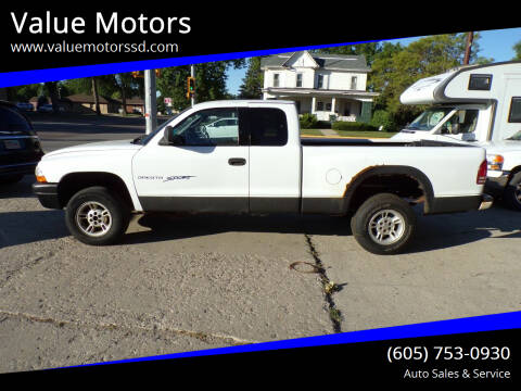 2000 Dodge Dakota for sale at Value Motors in Watertown SD
