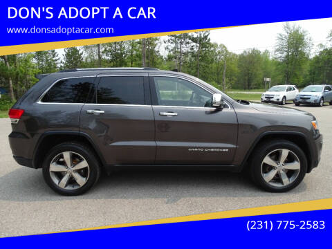 2015 Jeep Grand Cherokee for sale at DON'S ADOPT A CAR in Cadillac MI