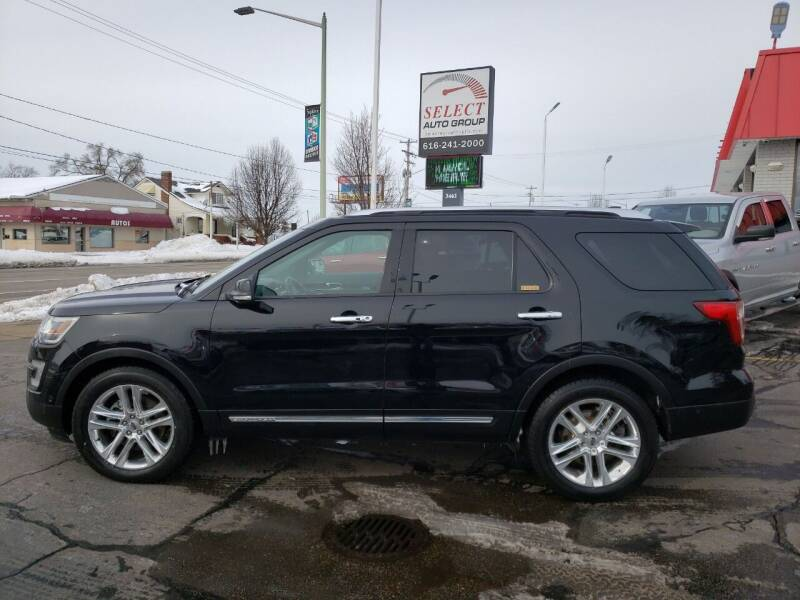 2017 Ford Explorer for sale at Select Auto Group in Wyoming MI