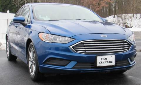 2017 Ford Fusion for sale at Car Culture in Warren OH