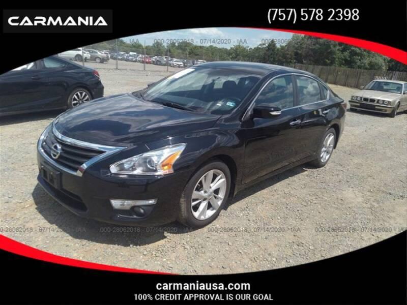 2015 Nissan Altima for sale at CARMANIA LLC in Chesapeake VA