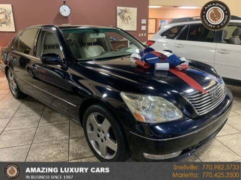 2006 Lexus LS 430 for sale at Amazing Luxury Cars in Snellville GA