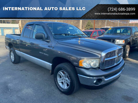 2003 Dodge Ram Pickup 1500 for sale at INTERNATIONAL AUTO SALES LLC in Latrobe PA