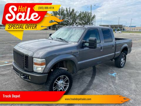 2008 Ford F-250 Super Duty for sale at Truck Depot in Miami FL