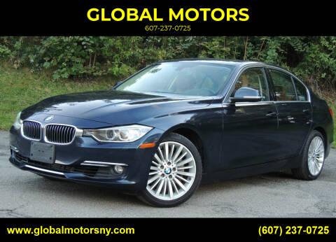 2014 BMW 3 Series for sale at GLOBAL MOTORS in Binghamton NY
